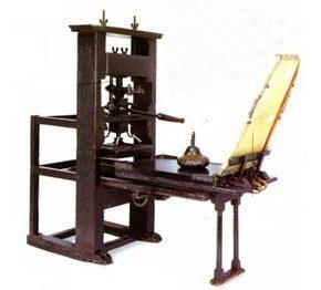 Invencion de la imprenta año, masquelibros