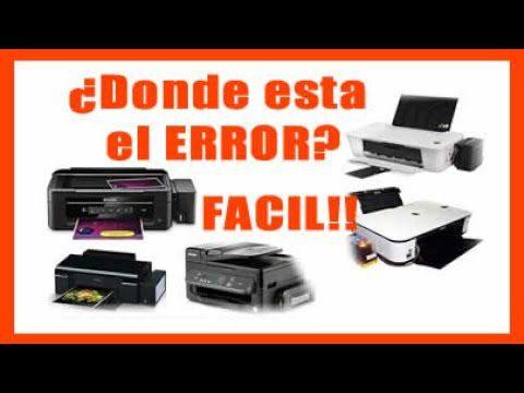 La impresora no imprime bien, masquelibros