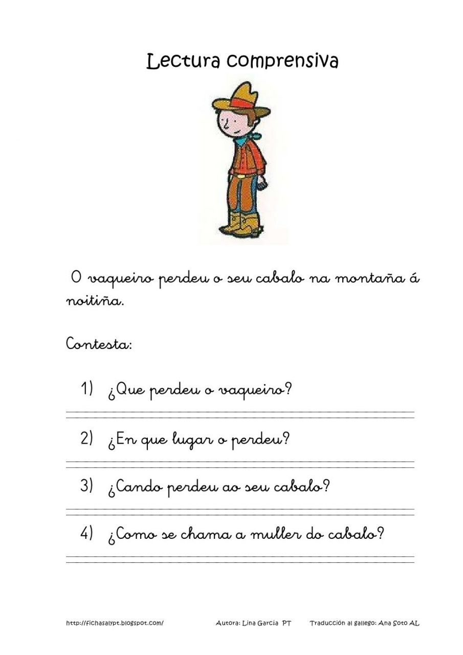 Lecturas en galego para imprimir, masquelibros