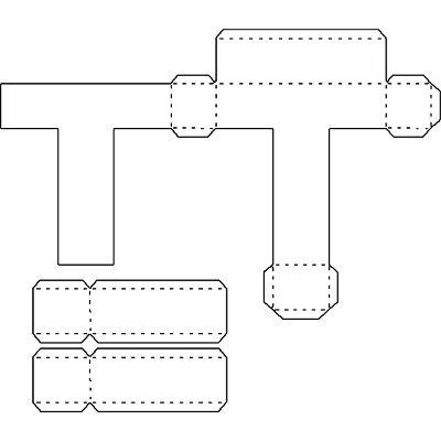 Letras en 3d para imprimir, masquelibros