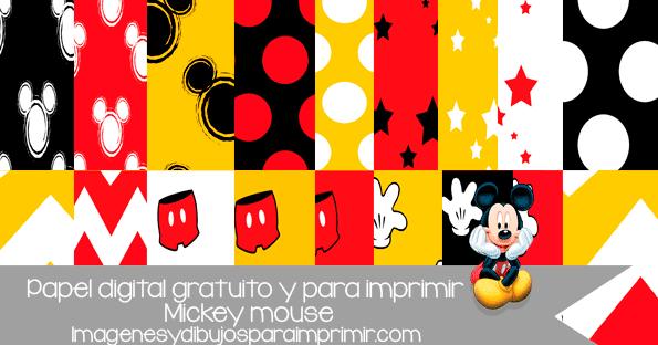Letras mickey mouse para imprimir, masquelibros