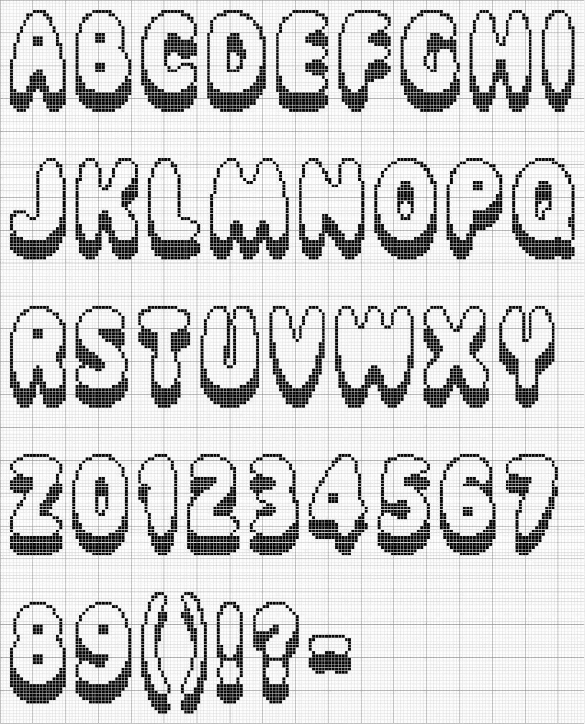 Letras para colorear e imprimir grandes, masquelibros