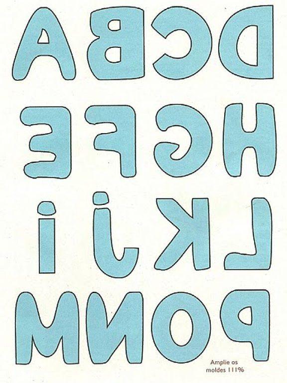 Letras para patchwork para imprimir, masquelibros