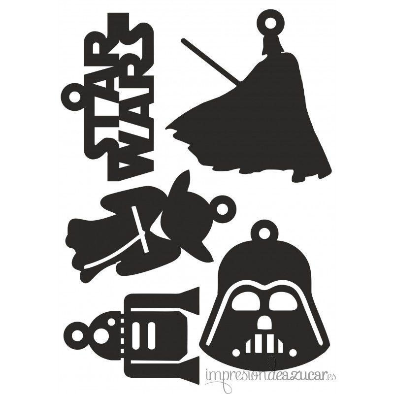 Letras star wars para imprimir, masquelibros