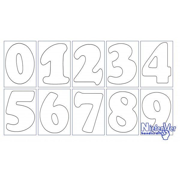 Letras y numeros para imprimir, masquelibros