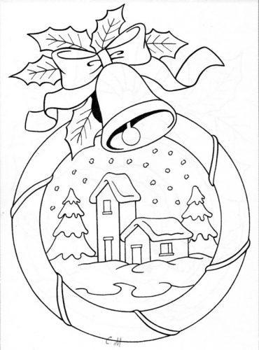 Mandalas de navidad para imprimir, masquelibros