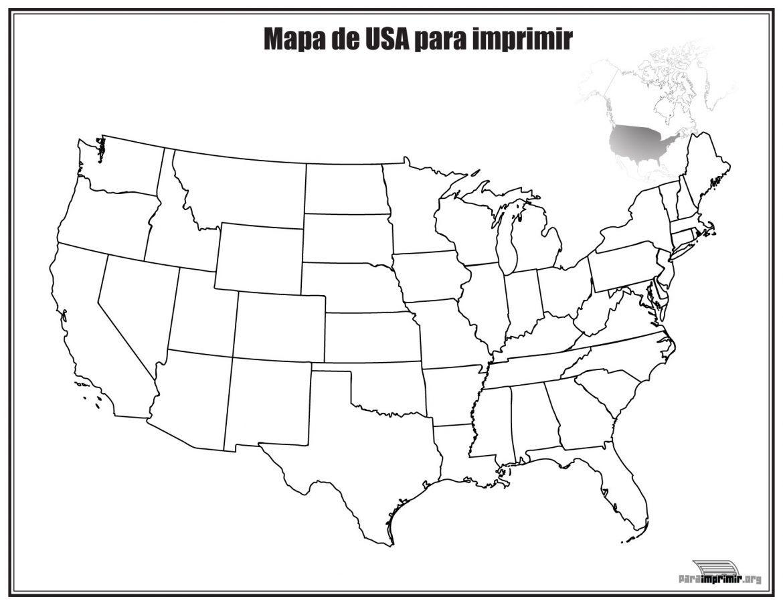 Mapa de europa sin nombres para imprimir, masquelibros