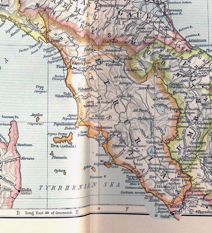 Mapa de la toscana para imprimir, masquelibros