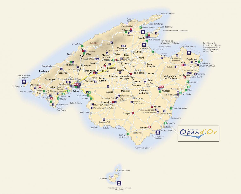 Mapa de mallorca para imprimir, masquelibros