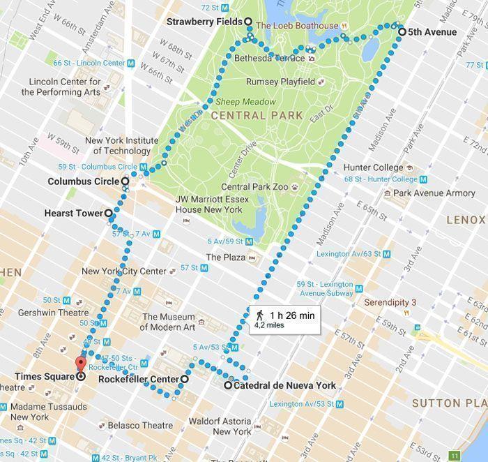 Mapa de nueva york para imprimir, masquelibros