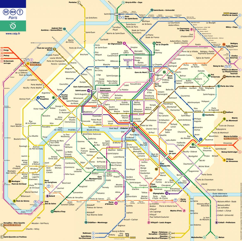 Mapa de paris para imprimir, masquelibros