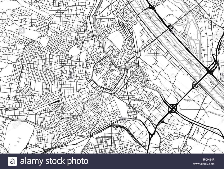 Mapa de viena para imprimir, masquelibros