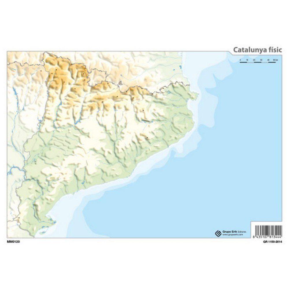 Mapa fisico de america del norte mudo para imprimir, masquelibros