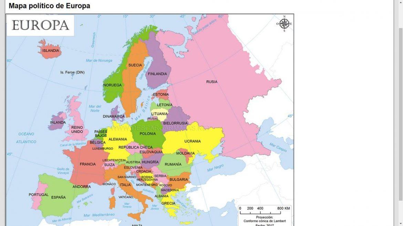 Mapa fisico de europa para imprimir pdf, masquelibros