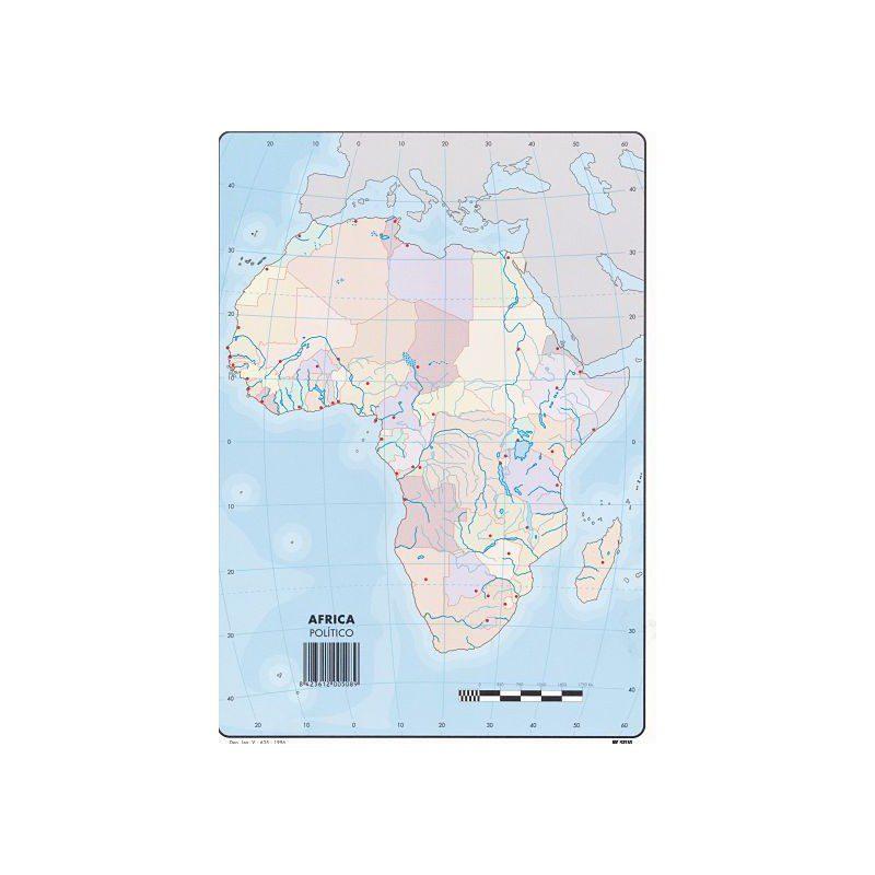 Mapa fisico mudo de africa para imprimir en a4, masquelibros