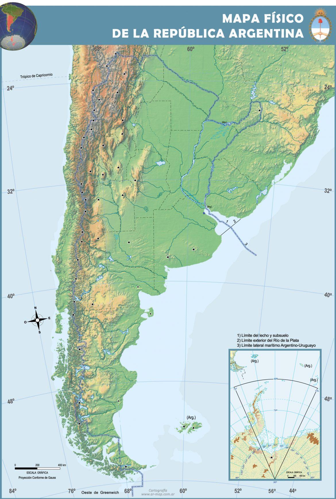 Mapa fisico mudo de america para imprimir en a4, masquelibros