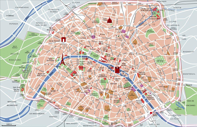 Mapa metro paris para imprimir, masquelibros