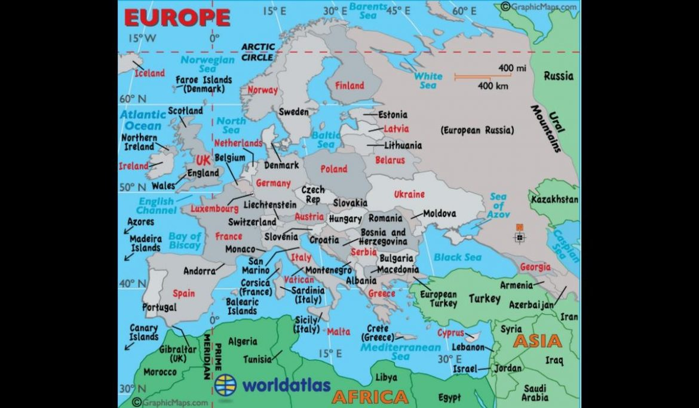 Mapa politico europa para imprimir, masquelibros