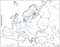 Mapa rios de europa para imprimir, masquelibros