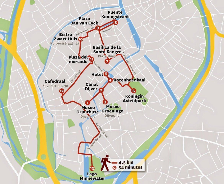 Mapa turistico bruselas para imprimir, masquelibros