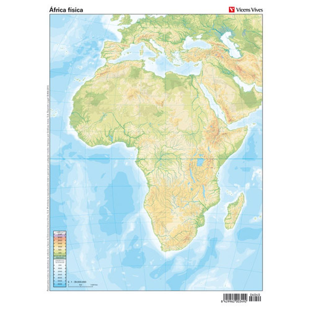 Mapas de africa para imprimir, masquelibros