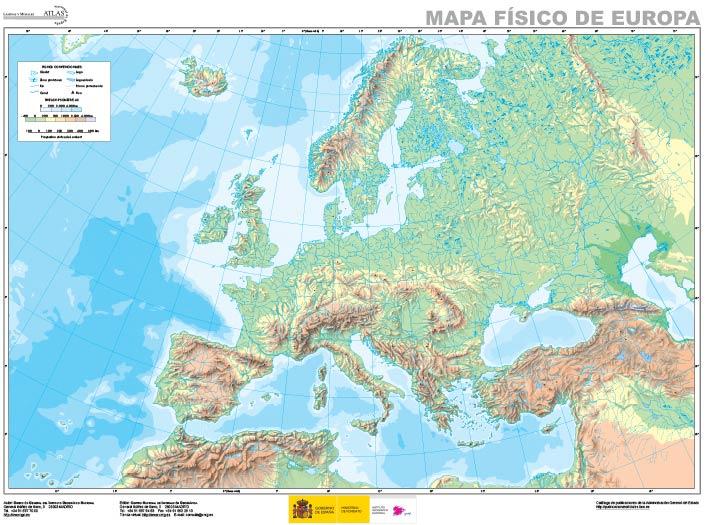 Mapas de europa para imprimir, masquelibros
