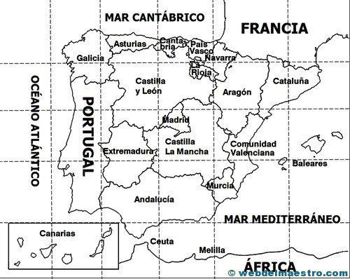 Mapas de rios de españa para imprimir, masquelibros