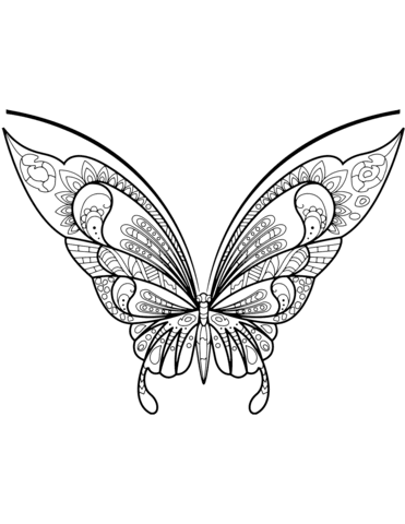 Mariposas para colorear e imprimir, masquelibros