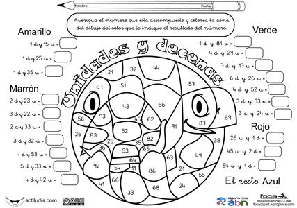 Matematicas divertidas primaria para imprimir, masquelibros