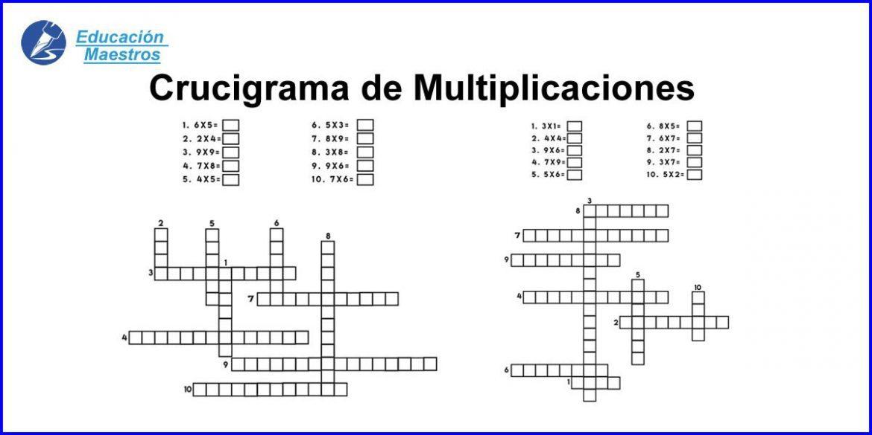Multiplicaciones por una cifra para imprimir pdf, masquelibros