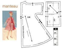 Patrones vestidos barbie para imprimir, masquelibros