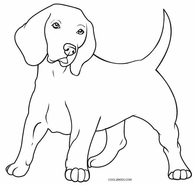 Perro para colorear e imprimir, masquelibros