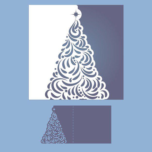 Plantilla arbol de navidad para imprimir, masquelibros
