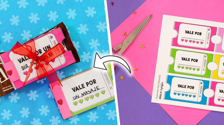 Plantilla vale regalo word para imprimir, masquelibros
