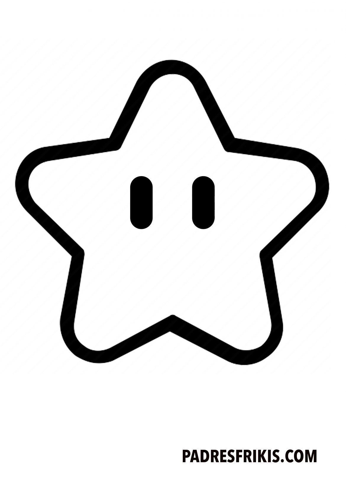 Plantillas de estrellas para imprimir, masquelibros