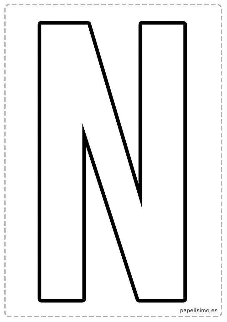 Plantillas de letras grandes para imprimir, masquelibros