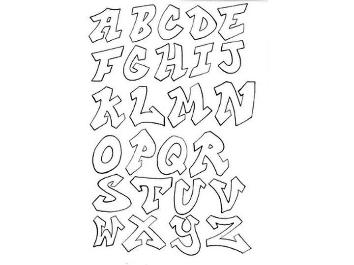 Plantillas de letras para imprimir, masquelibros