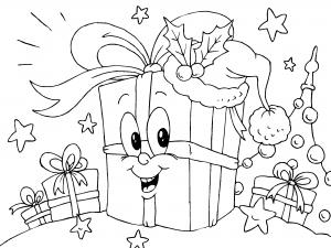 Postales de navidad para imprimir y colorear, masquelibros