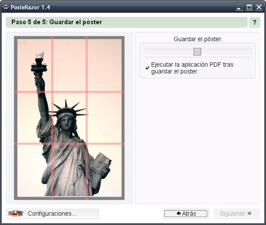 Programa para imprimir en pdf, masquelibros