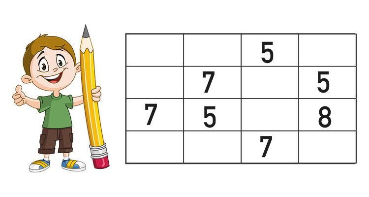 Sudoku niños 8 años para imprimir, masquelibros
