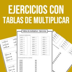 Tablas de multiplicar para imprimir sin resultados, masquelibros