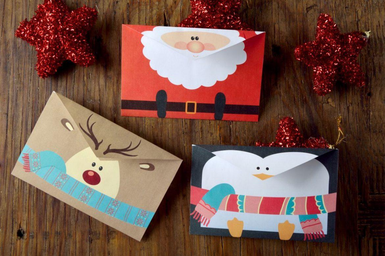 Tarjeta de navidad para imprimir, masquelibros