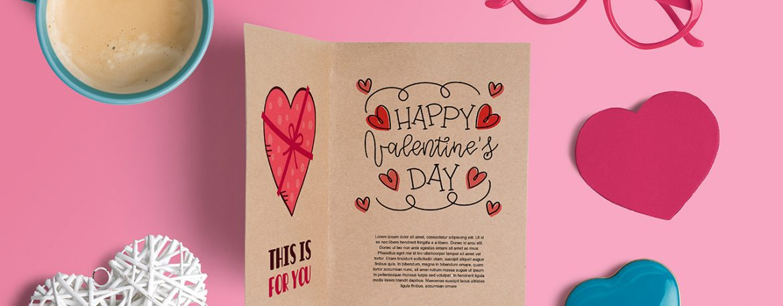 Tarjeta san valentin para imprimir, masquelibros