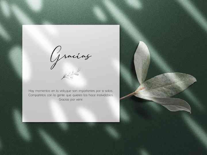 Tarjetas de agradecimiento boda para imprimir gratis, masquelibros