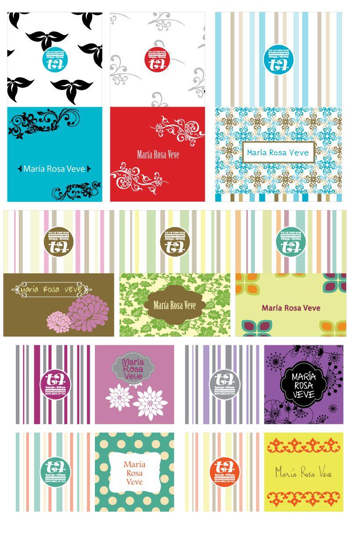 Tarjetas de regalo para imprimir personalizadas, masquelibros