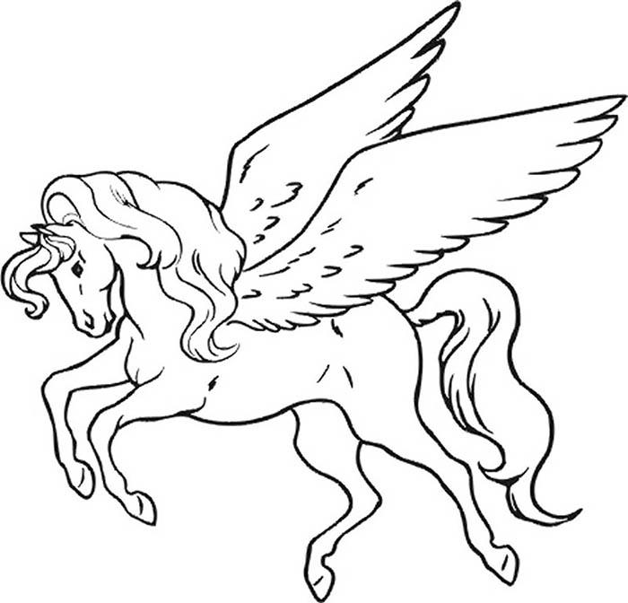 Unicornios para colorear e imprimir, masquelibros